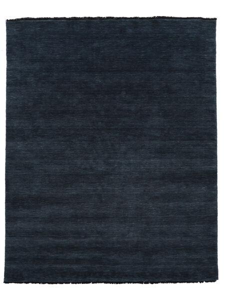 Handloom Fringes - Tummansininen Matto 200X250 Moderni Musta (Villa, Intia)