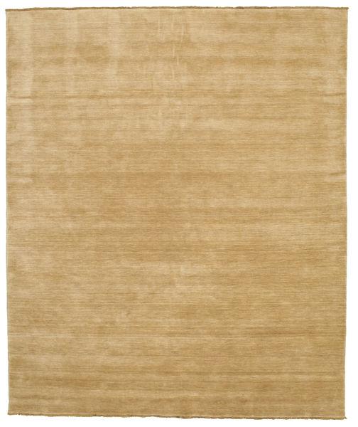 Handloom Fringes - Beige Matto 250X300 Moderni Tummanbeige/Beige Isot (Villa, Intia)
