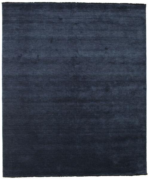 Handloom Fringes - Tummansininen Matto 250X300 Moderni Tummansininen/Sininen Isot (Villa, Intia)