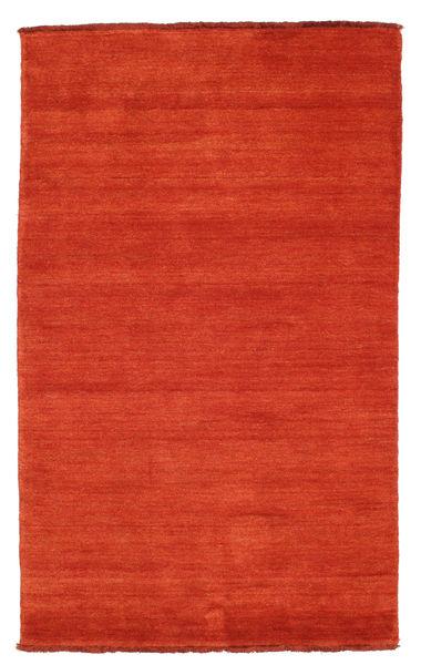 Handloom Fringes - Ruoste/Punainen Matto 100X160 Moderni Ruoste (Villa, Intia)