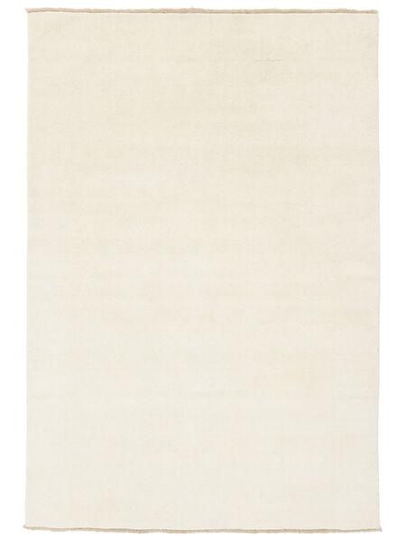 Handloom Fringes - Vaalea Matto 140X200 Moderni Beige/Valkoinen/Creme (Villa, Intia)