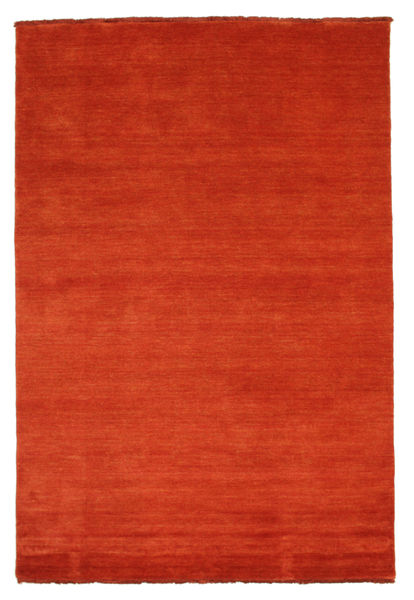 Handloom Fringes - Ruoste/Punainen Matto 140X200 Moderni Ruoste (Villa, Intia)