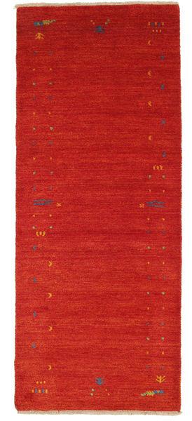 Gabbeh Loom Frame - Punainen Matto 0X0 Moderni Käytävämatto Tummanpunainen (Villa, Intia)
