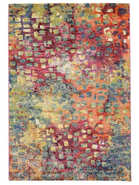 Davina Matto 133X190 Moderni Ruskea/Vaaleanharmaa ( Turkki)
