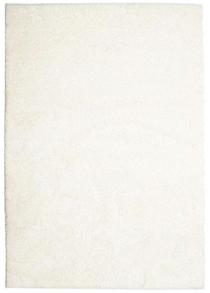 Shaggy Sadeh - Valkoinen Matto 160X230 Moderni Beige ( Turkki)