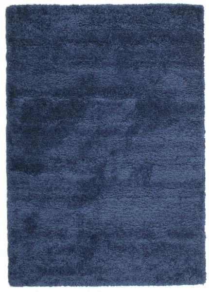 Shaggy Sadeh - Sininen Matto 160X230 Moderni Tummansininen/Sininen ( Turkki)