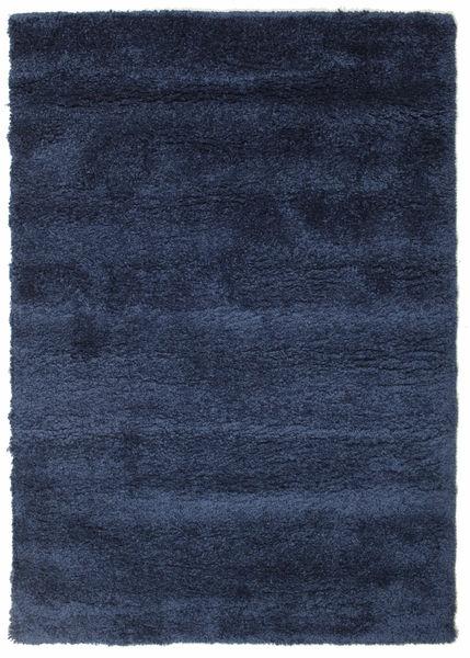 Shaggy Sadeh - Sininen Matto 140X200 Moderni Tummansininen/Tummanvioletti ( Turkki)