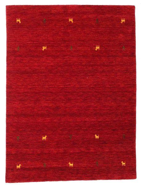 Gabbeh Loom Two Lines - Punainen Matto 140X200 Moderni Punainen/Tummanpunainen (Villa, Intia)