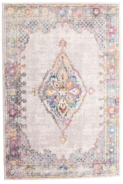 Cornelia - Vaalea Matto 200X300 Moderni Vaaleanharmaa/Vaaleanpunainen/Beige ( Turkki)