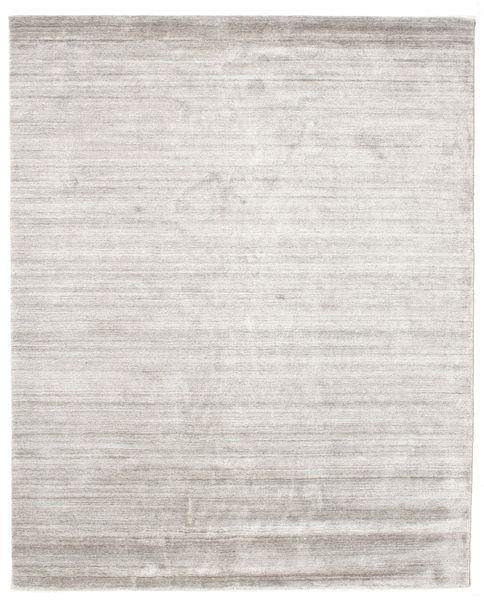 Bamboo Silkki Loom - Warm Harmaa Matto 200X250 Moderni Vaaleanharmaa ( Intia)