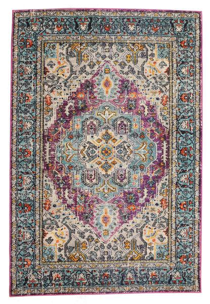 Maaike Matto 160X230 Moderni Tummanharmaa/Vaaleanharmaa ( Turkki)