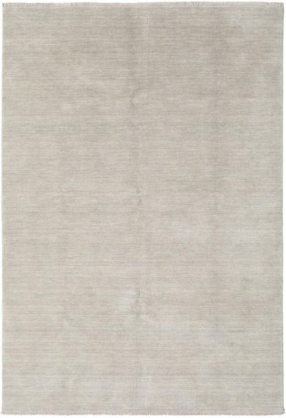 Handloom Fringes - Greige Matto 160X230 Moderni Vaaleanharmaa (Villa, Intia)