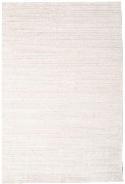 Bamboo Silkki Loom - Beige Matto 200X300 Moderni Valkoinen/Creme/Beige ( Intia)