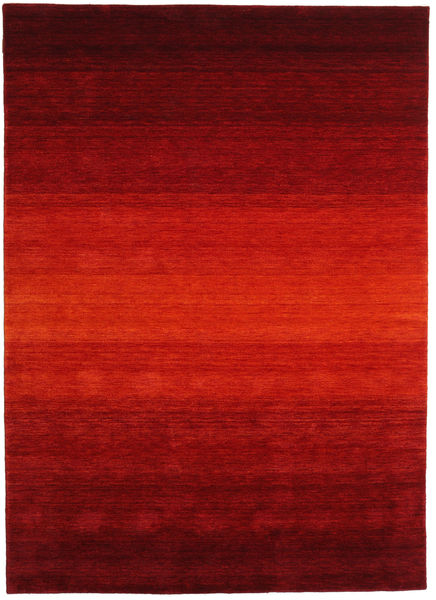 Gabbeh Rainbow - Punainen Matto 210X290 Moderni Tummanpunainen/Ruoste (Villa, Intia)