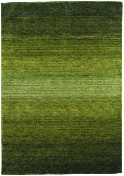 Gabbeh Rainbow - Vihreä Matto 160X230 Moderni Tummanvihreä/Oliivinvihreä (Villa, Intia)