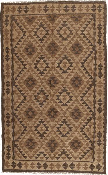 Kelim Matto 147X241 Itämainen Käsinkudottu Ruskea/Tummanruskea (Villa, Persia/Iran)