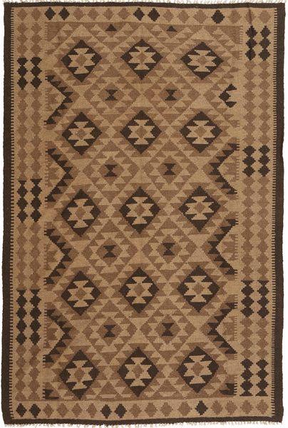 Kelim Matto 166X248 Itämainen Käsinkudottu Ruskea/Tummanruskea (Villa, Persia/Iran)