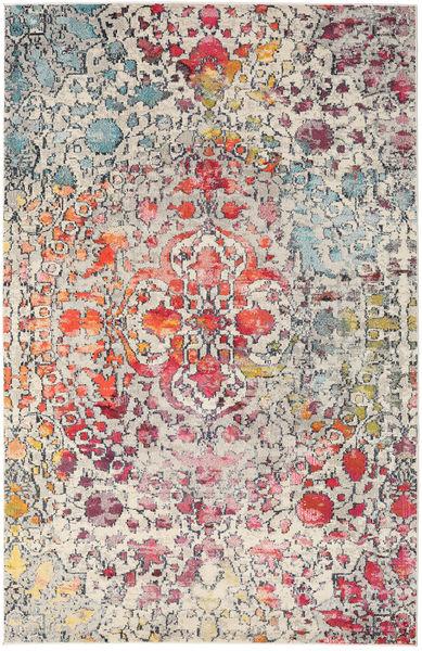 Kaleidoscope - Multi Matto 200X300 Moderni Vaaleanharmaa/Tummanruskea ( Turkki)