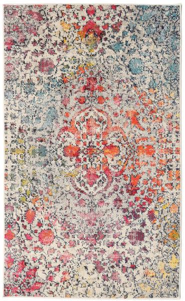 Kaleidoscope - Multi Matto 100X160 Moderni Vaaleanharmaa/Vaaleanpunainen ( Turkki)