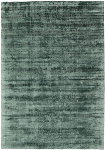 Tribeca - Vihreä Matto 160X230 Moderni Tummanvihreä/Sininen ( Intia)