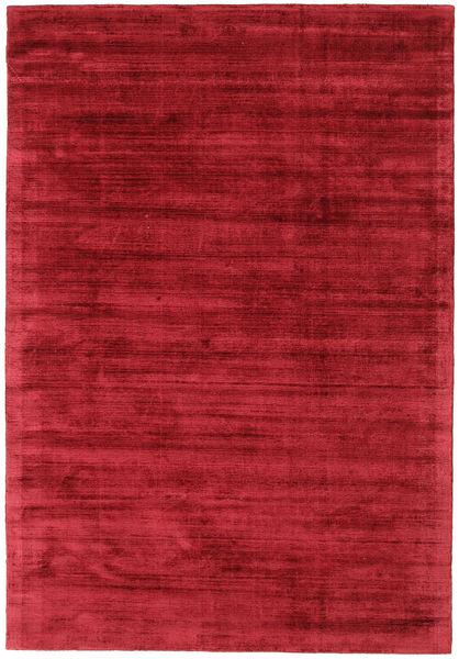 Tribeca - Tumma Punainen Matto 160X230 Moderni Punainen ( Intia)