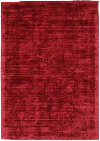 Tribeca - Tumma Punainen Matto 140X200 Moderni Tummanpunainen/Punainen ( Intia)