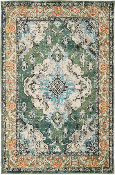 Leia - Vihreä Matto 160X230 Moderni Vaaleanharmaa/Oliivinvihreä ( Turkki)