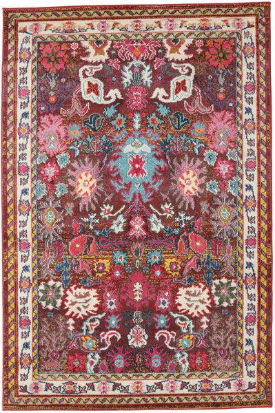 Mirzam - Tumma Violetti Matto 160X230 Moderni Tummanpunainen/Tummanruskea ( Turkki)