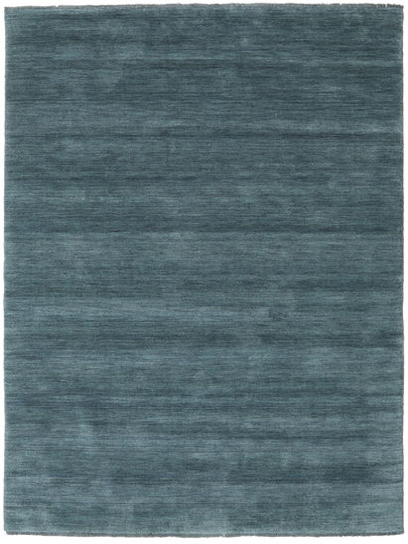 Handloom Fringes - Deep Petrol Matto 160X230 Moderni Sininen (Villa, Intia)