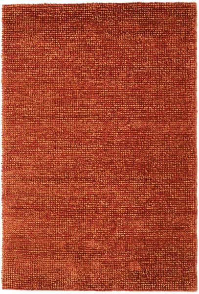 Manhattan - Ruoste Matto 250X350 Moderni Punainen/Oranssi/Tummanpunainen Isot ( Intia)