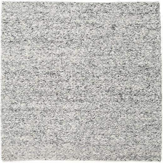 Bubbles - Melange Harmaa Matto 250X250 Moderni Neliö Vaaleanharmaa/Tummanharmaa Isot (Villa, Intia)