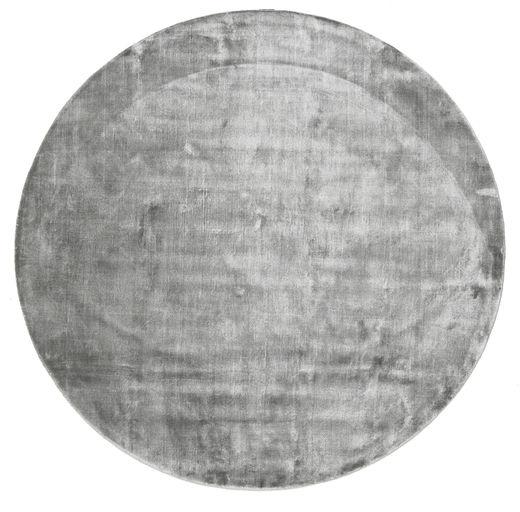 Broadway - Misty Grey Matto Ø 200 Moderni Pyöreä Vaaleanharmaa/Tummanharmaa ( Intia)