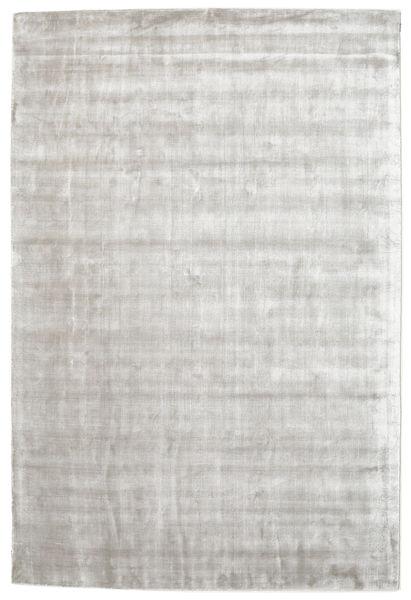 Broadway - Hopea Valkoinen Matto 200X300 Moderni Vaaleanharmaa/Valkoinen/Creme ( Intia)