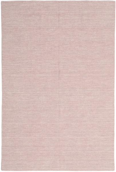 Kelim Loom - Misty Pink Matto 200X300 Moderni Käsinkudottu Vaaleanpunainen/Vaaleanvioletti (Villa, Intia)