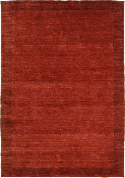 Handloom Frame - Ruoste Matto 160X230 Moderni Ruoste/Punainen (Villa, Intia)