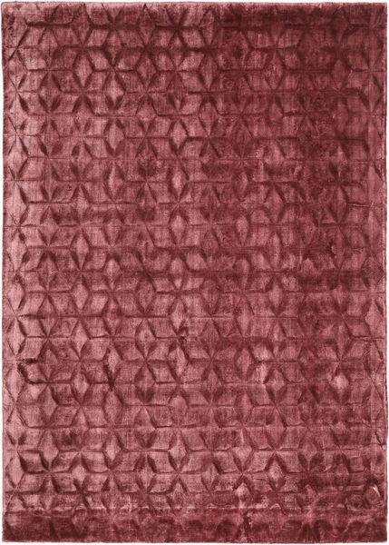 Diamond - Burgundy Matto 140X200 Moderni Tummanpunainen/Violetti ( Intia)