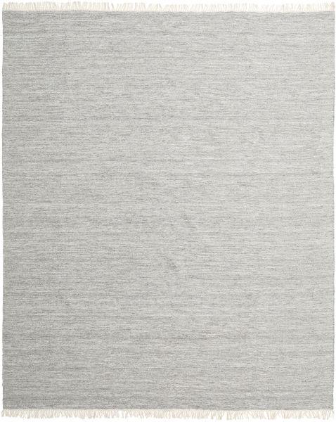 Melange - Harmaa Matto 0X0 Moderni Käsinkudottu Vaaleanharmaa (Villa, Intia)