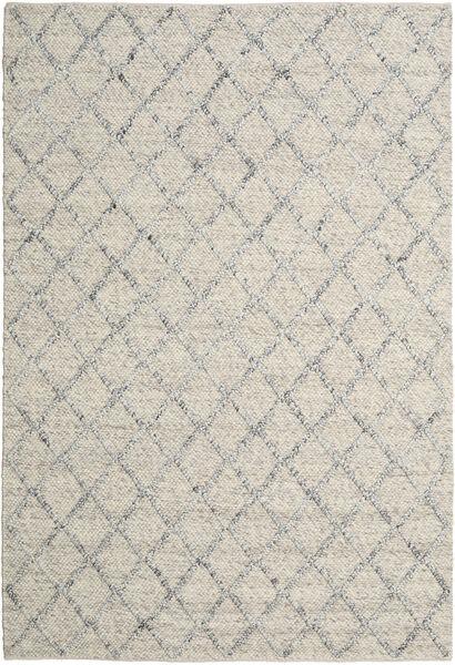Rut - Hopea/Harmaa Melange Matto 250X350 Moderni Käsinkudottu Vaaleanharmaa/Tummanbeige Isot (Villa, Intia)