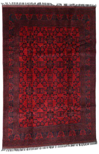Afghan Khal Mohammadi Matto 194X286 Itämainen Käsinsolmittu Tummanpunainen/Punainen (Villa, Afganistan)