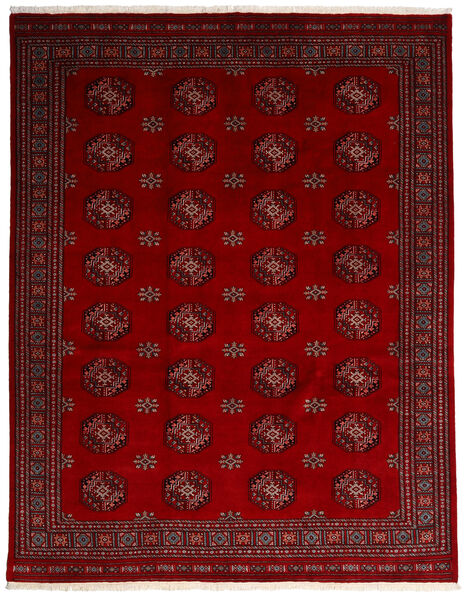 Pakistan Bokhara 3Ply Matto 249X315 Itämainen Käsinsolmittu Tummanpunainen/Punainen (Villa, Pakistan)