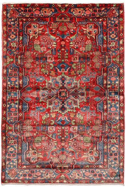 Nahavand Old Matto 161X235 Itämainen Käsinsolmittu Tummanpunainen/Ruoste (Villa, Persia/Iran)