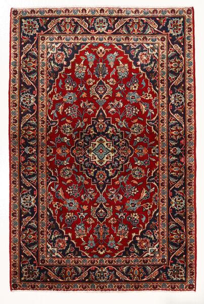 Keshan Matto 97X147 Itämainen Käsinsolmittu Tummanpunainen/Beige (Villa, Persia/Iran)