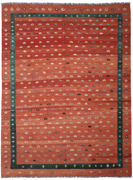 Kelim Nimbaft Matto 297X385 Moderni Käsinkudottu Punainen/Ruoste Isot (Villa, Afganistan)