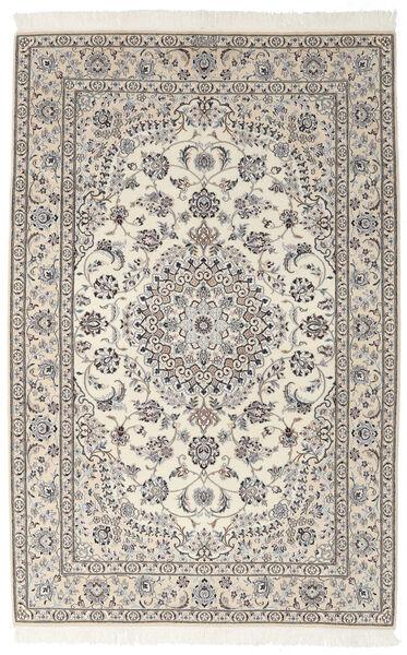 Nain 9La Matto 155X242 Itämainen Käsinsolmittu Tummanharmaa/Tummanbeige (Villa/Silkki, Persia/Iran)