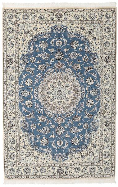 Nain 9La Matto 148X230 Itämainen Käsinsolmittu Musta/Tummanharmaa (Villa/Silkki, Persia/Iran)