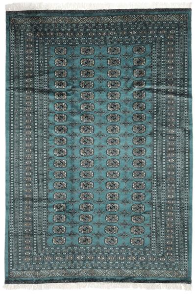 Pakistan Bokhara 2Ply Matto 183X264 Itämainen Käsinsolmittu Tumma Turkoosi/Musta (Villa, Pakistan)