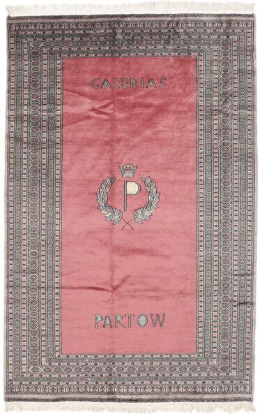 Pakistan Bokhara 2Ply Matto 163X250 Itämainen Käsinsolmittu Tummanpunainen/Tummanharmaa (Villa, Pakistan)