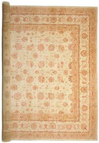 Ziegler Matto 575X842 Itämainen Käsinsolmittu Beige/Tummanbeige Isot (Villa, Pakistan)