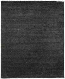 Handloom Fringes - Musta/Harmaa Matto 250X300 Moderni Tummanharmaa Isot (Villa, Intia)