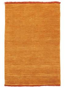 Handloom Fringes - Oranssi Matto 200X300 Moderni Keltainen/Vaaleanruskea (Villa, Intia)
